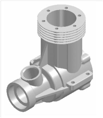 Modelowanie 3D zaawansowane – Części silnika modelarskiego