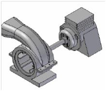 Modelowanie zaawansowane 3d – Pokrywa turbiny