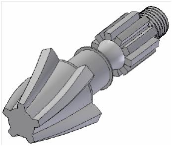 Modelowanie 3D – Modelowanie łopatek turbiny.