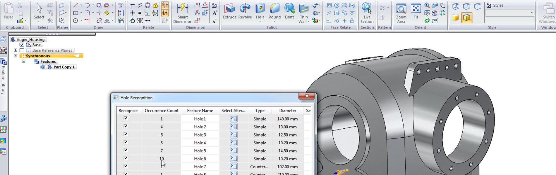 CAD Solid Edge